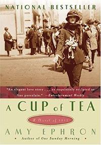 justify the title of the story a cup of tea