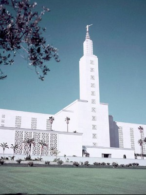 A Visit to the Los Angeles' Mormon Temple Visitor's Center